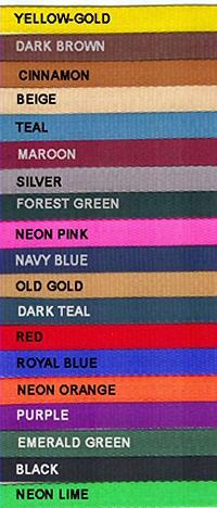 Half Inch Colors