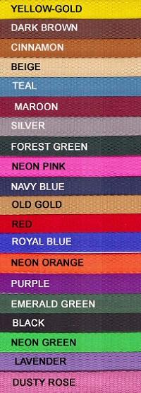 Three Quarter Inch Colors